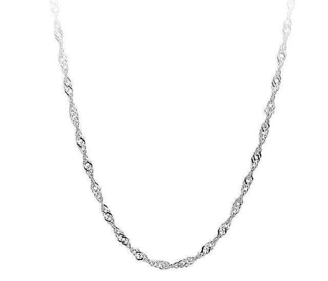 Women's Wave Chain Necklace