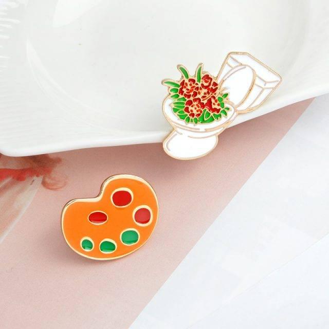 Harajuku Style Enamel Pin