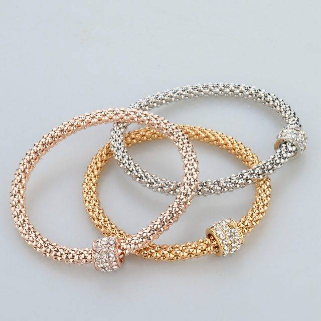 Women's Snake Chain Bangle Bracelet