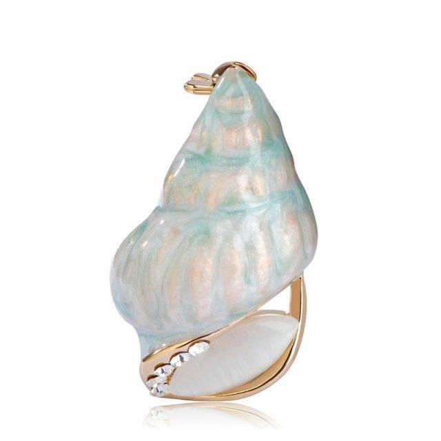 Women's Sea Conch Brooch