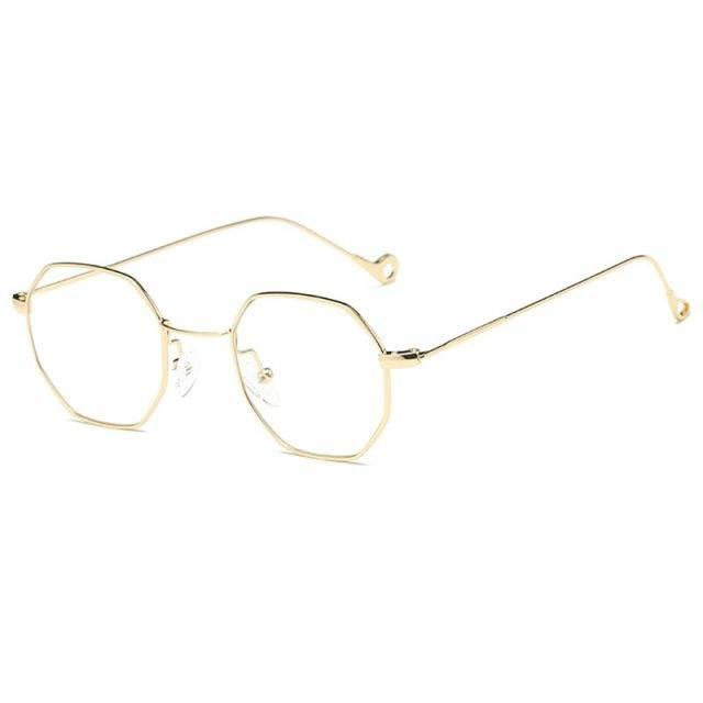 Women's Retro Hexagon Sunglasses