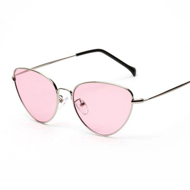 Light Weight Retro Styled Cat Eye Sunglasses for Women