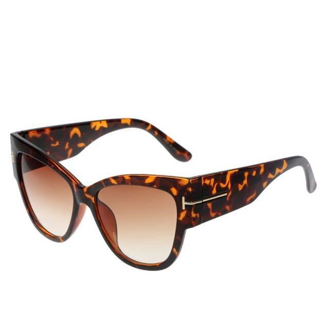 Women's Wide Cat Eye Sunglasses
