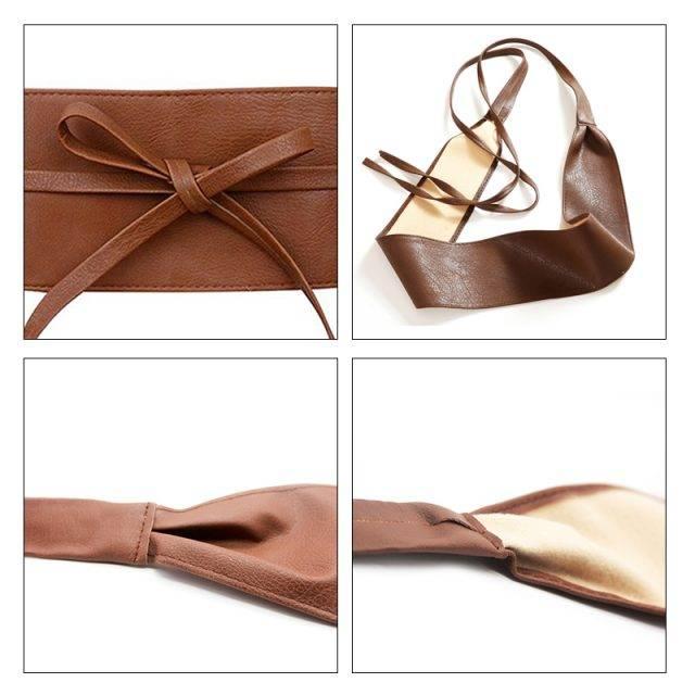 Wide Women Wrap Belt