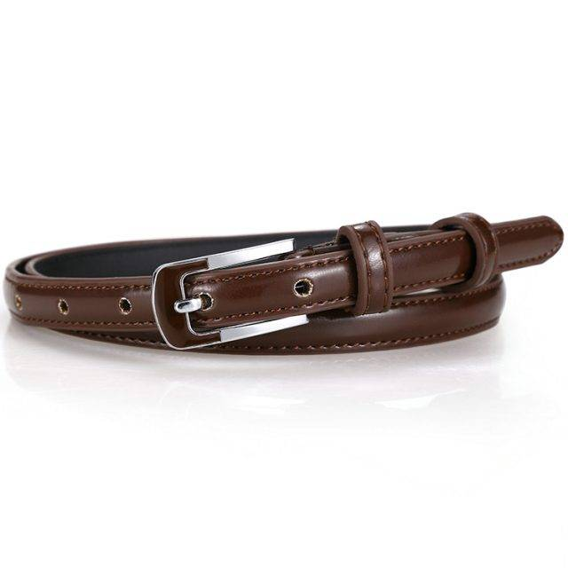 Colorful PU Leather Waist Belts for Women