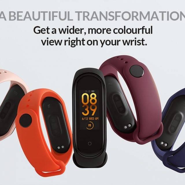 Xiaomi Mi Band 4 Waterproof Smart Fitness Tracker