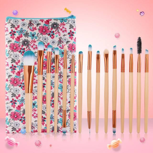Makeup Brushes 15 Pcs Set