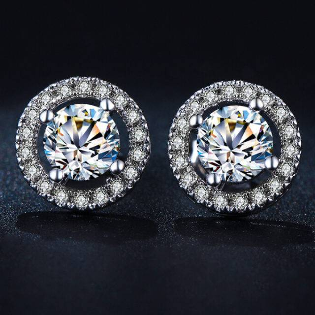 Women's Crystal Stud Earrings