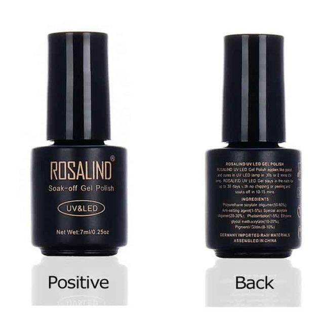 UV LED Gel Nail Polish Pure Color 1-30