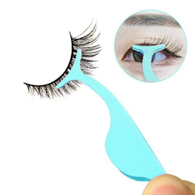 False Eyelashes Makeup Tweezer