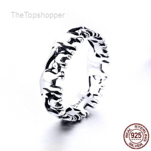 Animal Elephant Family Ring 925 Sterling Silver Rings For Women